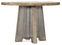 Dining Room Urban Elevation 44in Metal Dining Table