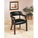Traditional Black Office Chair Product Image