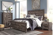 Wynnlow Crossbuck Panel Bedroom Set