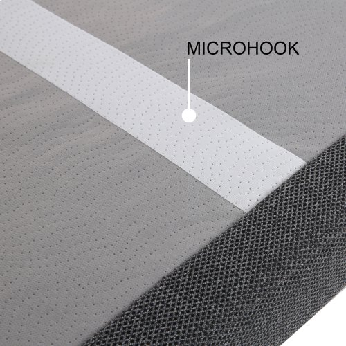 ProMotion 2.0 Low-Profile Adjustable Bed Base with Simultaneous Movement and MicroHook Technology, Charcoal Gray Finish, Twin