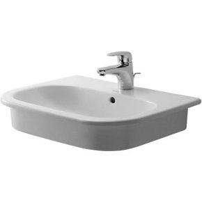 D-code Vanity Basin 1 Faucet Hole Punched