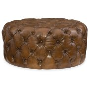 Living Room Hazel Round Ottoman Product Image