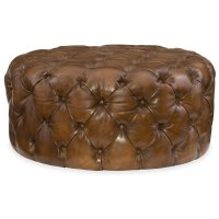Living Room Hazel Round Ottoman Product Image