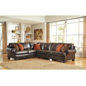 Nesbit - Antique 3 Piece Sectional