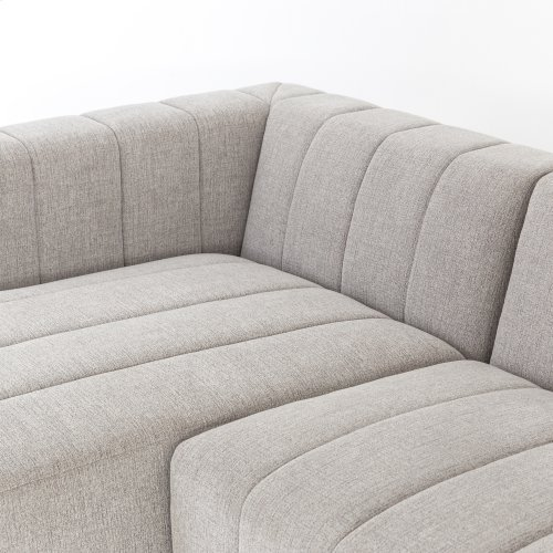 Right Arm Facing Configuration Langham Channeled 3-pc Sectional W/ Ottoman