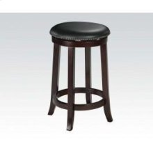 "24""h Swivel Stool W/nail Head"