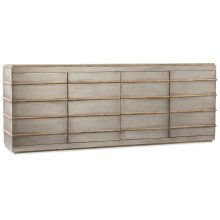 Home Entertainment Urban Elevation Metal Entertainment Credenza