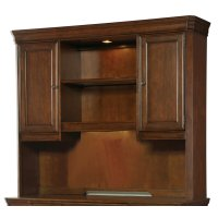 Home Office Cherry Creek Computer Credenza Hutch Product Image