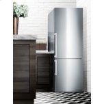 Summit Frost-free Energy Star Certified Bottom Freezer Refrigerator In Stainless Steel With Digital Controls; Replaces Ffbf285ssx