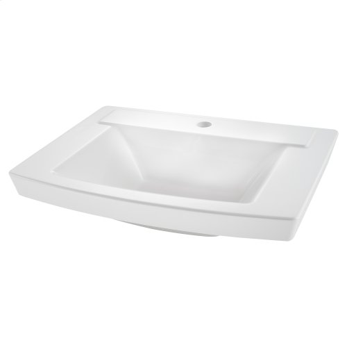 Townsend Above-Counter Bathroom Sink  Center Hole  American Standard - White