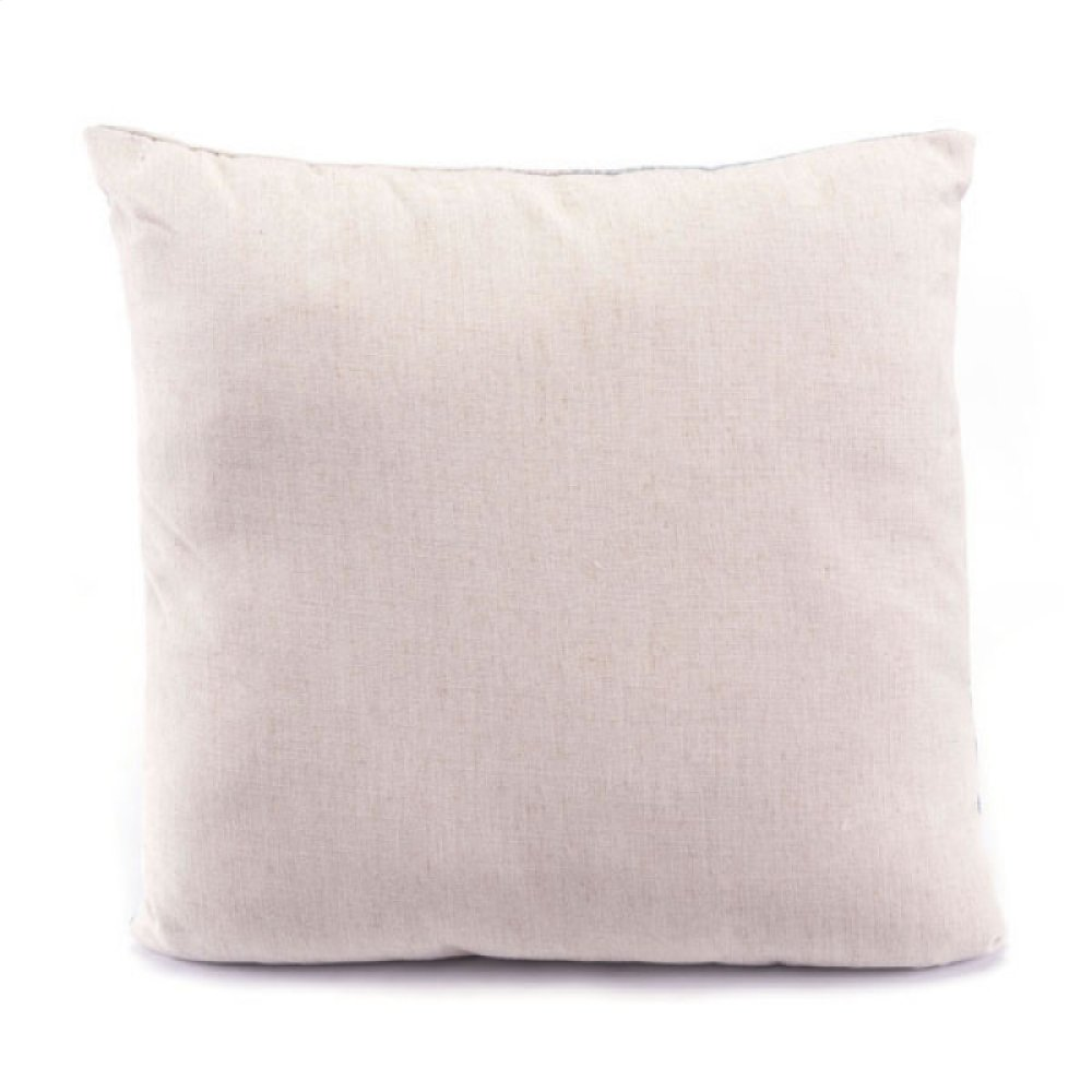 Ombre Pillow Blue & Natural