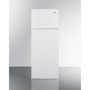 SummitTwo-door Cycle Defrost Refrigerator-freezer In Slim Width and White Finish