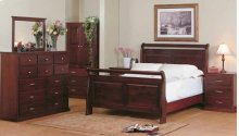 8100 Sleigh Bedroom Suite