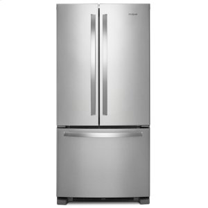 Whirlpool33-inch Wide French Door Refrigerator - 22 cu. ft.