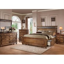 Arielle Storage Cal. King Bed
