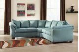 Darcy - Sky 2 Piece Sectional Product Image