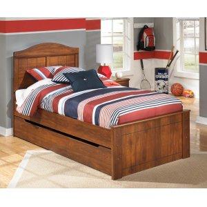 Ashley Furniture Barchan - Medium Brown 5 Piece Bed Set (Twin)