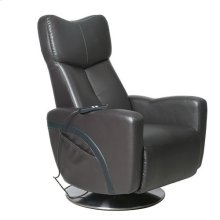 Venice Recliner in Charcoal Breathable Air Leather