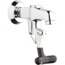 Single-hole wall-mounted glass filler