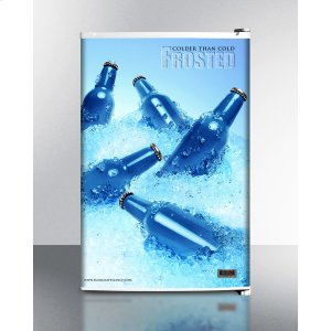 SummitCold Cavern Beer Froster, Summit's Counter Height Freezer That Stores Aluminum Bottled Beer At 24 f; Replaces Fs60mfrost