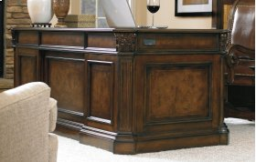 Home Office European Renaissance II 73'' Executive Desk