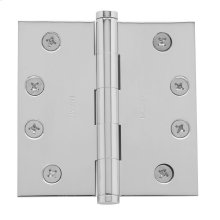Polished Chrome Square Corner Hinge