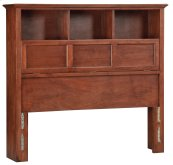 GAC McKenzie Full Bookcase Headboard