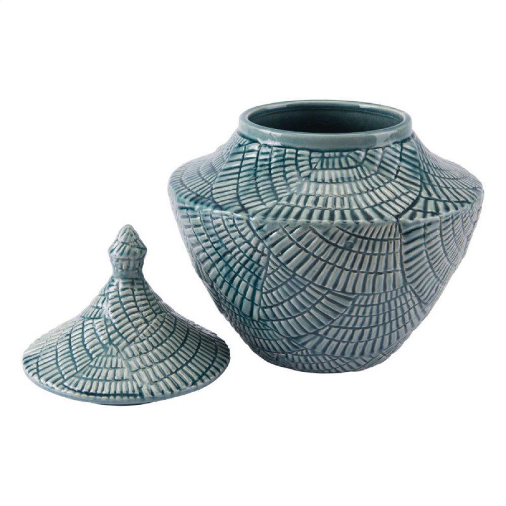 Escalera Sm Covered Jar Mint