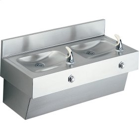 Elkay Multi-Station Fountain, Non-Filtered Non-Refrigerated Stainless