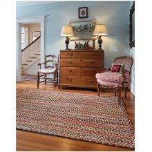 Plymouth Light Gold Braided Rugs