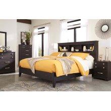Reylow - Dark Brown 2 Piece Bed Set (King)