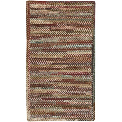 New Homestead Sundried Red Braided Rugs (Custom)