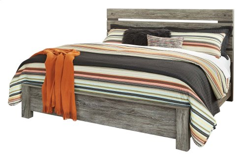 Cazenfeld - Black/Gray 3 Piece Bed Set (King)