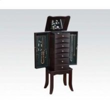 Java Finish Jewelry Armoire