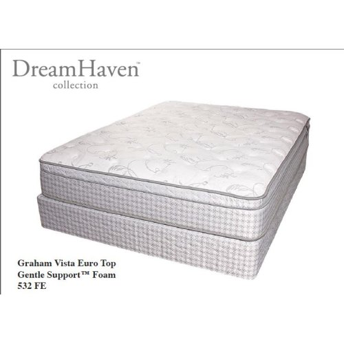 Serta Dreamhaven - Graham Vista - Euro Top - Queen