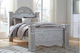 Zolena - Silver 3 Piece Bed Set (Queen)