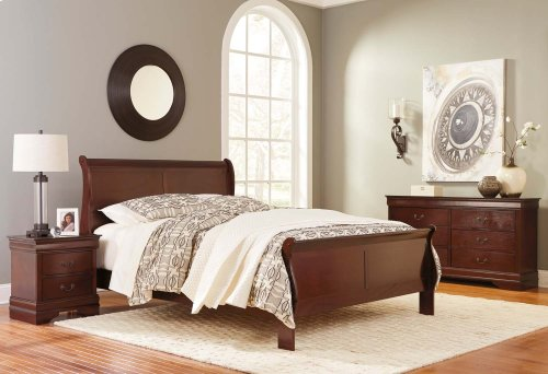 Ashley 4-Piece Queen Sleigh Bedroom Set