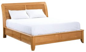GSP Pacific Queen Storage Bed