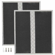 "Non-Ducted Replacement Charcoal Filter 14.624"" x 15.883"" x 0.500"""