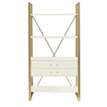Latitude Bookcase - Saltbox White