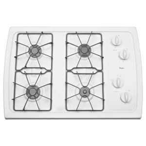 Whirlpool30-inch Gas Cooktop with 5,000 BTU AccuSimmer® Burner