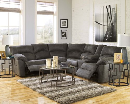 S1 in by Ashley Furniture in Tulsa OK Tambo Pewter 2 Piece