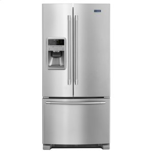 33- Inch Wide French Door Refrigerator with Beverage Chiller Compartment - 22 Cu. Ft. -