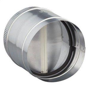 """Broan8"""" Round Inline Damper for Range Hoods and Bath Ventilation Fans"""