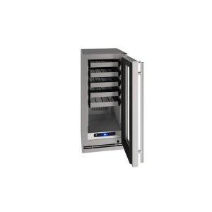 "U-Line15"" Wine Refrigerator With Stainless Frame Finish (115 V/ 60 Hz Volts / 60 Hz Hz)"