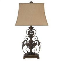 Metal Table Lamp (1/CN) Table Lamp - Gold Finish Collection Ashley at Aztec Ddistribution Center  Houston Texas