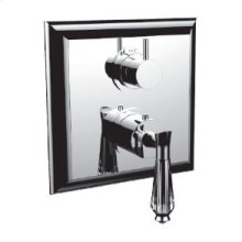 """7096dc-tm - Trim (shared Function) 1/2"""" Thermostatic Trim With 2-way Diverter in Polished Chrome"""
