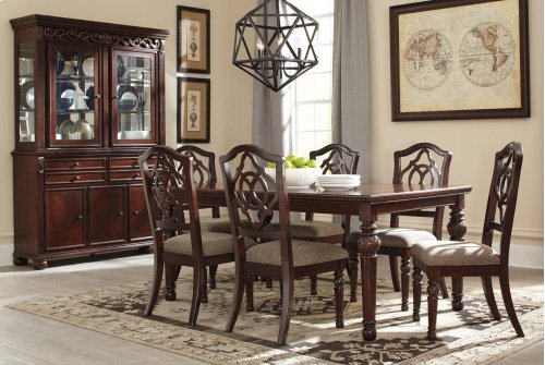 LEAHLYN - REDDISH BROWN COLLECTION - Buffet and Hutch Package