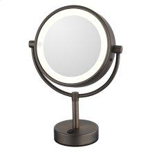 Neomodern LED Lighted Freestanding Mirror