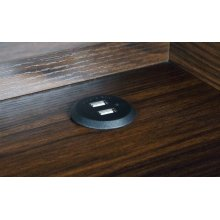 Writing Desk W/ Usb Outlet